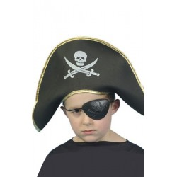 Bicorne pirate enfant