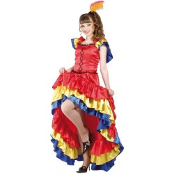 Costume de Danseuse de Can-Can