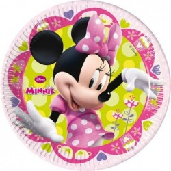 Assiettes en carton Minnie x8