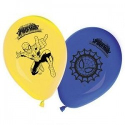 "Ballons ""Spiderman"" x8"