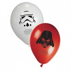 "Ballons ""Star Wars"" x8"