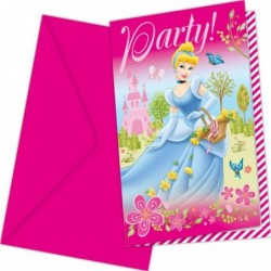 Invitations Princesses...