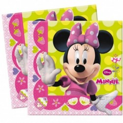 Serviettes en papier Minnie...