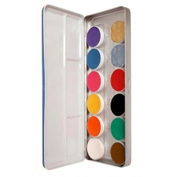 Palette Aquacolor 12 couleurs