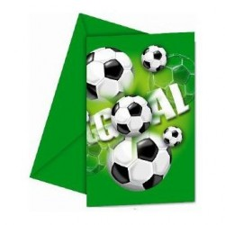 Invitations Football x6