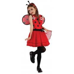 costume coccinelle fille