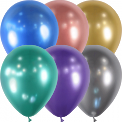 Ballons latex brillants x 25